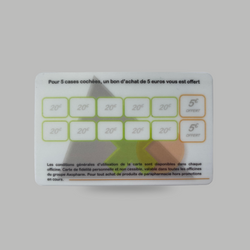Cartes de fidélité Axopharm