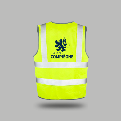 Gilet jaune Ville de Compiègne