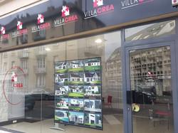 Villa Crea Soissons Signalétique panneaux