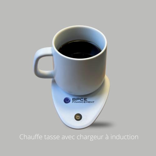 Chauffe tasse avec chargeur à induction