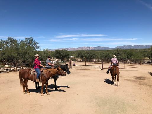 Reiten auf der Ranch
