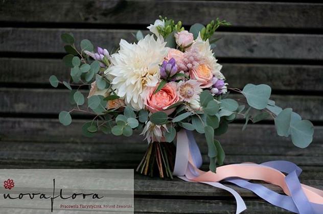 #novaflora #wnajwazniejszychchwilach #kwiatynaslub #bukiet #sochaczew