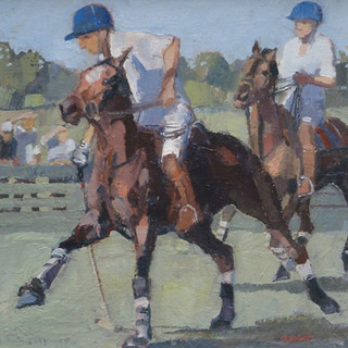 Catriona Campbell, Polo Match