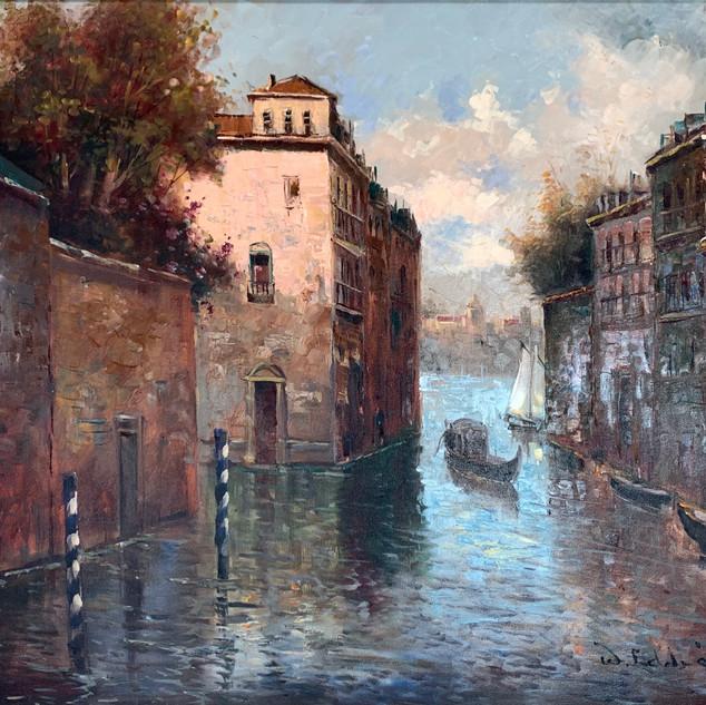 W. Eddie, Italian Canal Scene