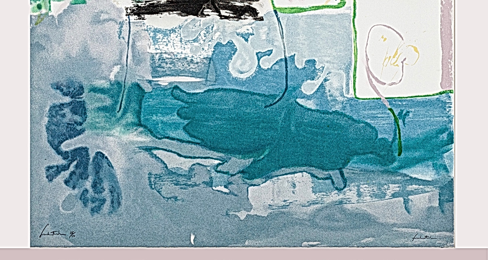 Works From a Cincinnati Collection: Helen Frankenthaler and Her Contemporaries