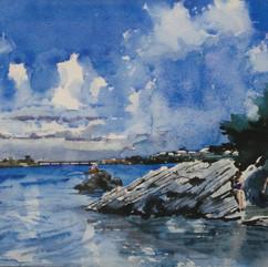 Joy Glaser, Bermuda Bathers