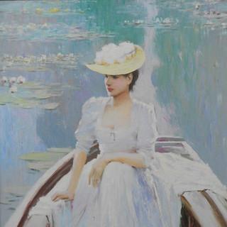 An He, Woman in Boat
