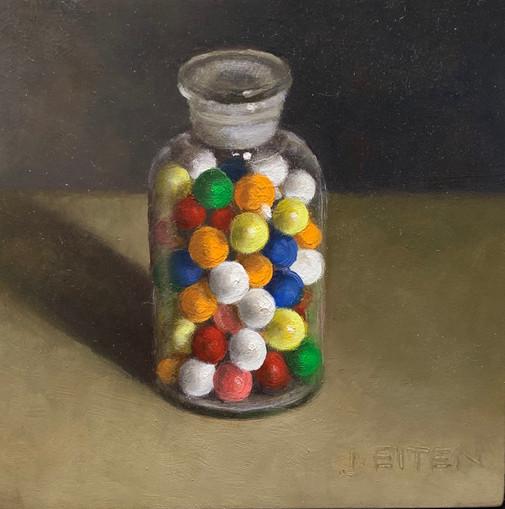 Medicine Jar Gum Balls