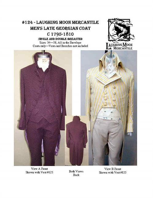 #124 Download - Men's Late Georgian Tailcoat