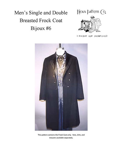 Pattern # BPC-6 Frock Coats
