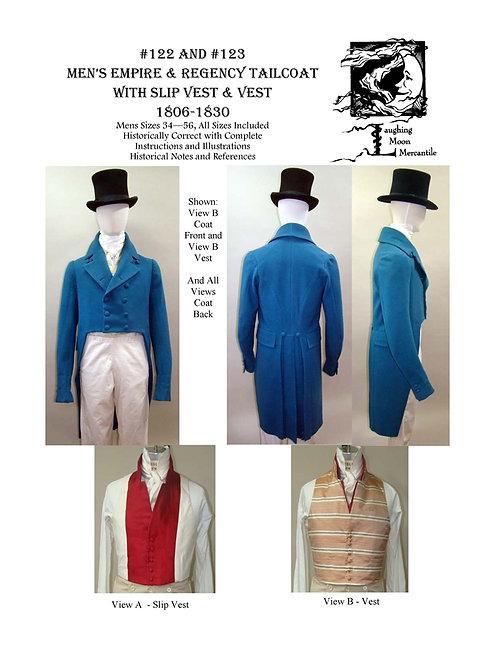 Pattern # 122/123 Regency Coat and Vest