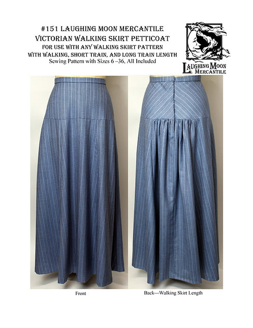 #151 Download - Petticoat for Walking Skirt in Three Lengths