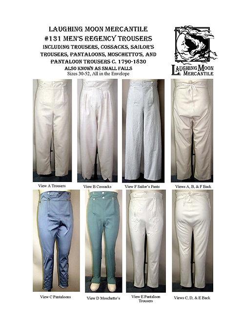 #131 Download - Men's Regency Trousers