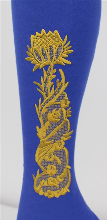 302-9 Stockings Embroidery - Met CI55.52