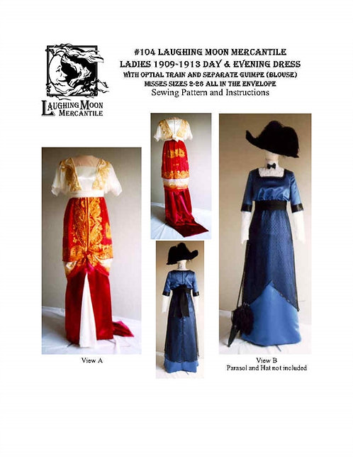 #104 Download - Edwardian Gown