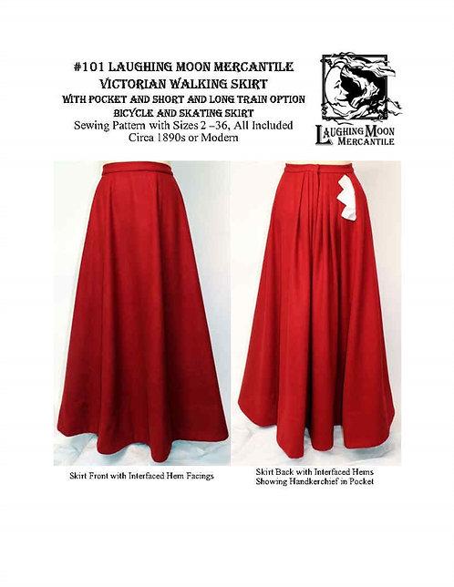 #101 Download Victorian Walking Skirt