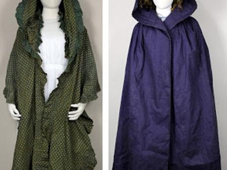 Regency and Georgian Cloak, Cape, and Muff - Pattern 135
