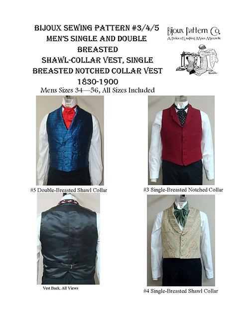 Pattern # BPC-3-4-5 Vest Combo