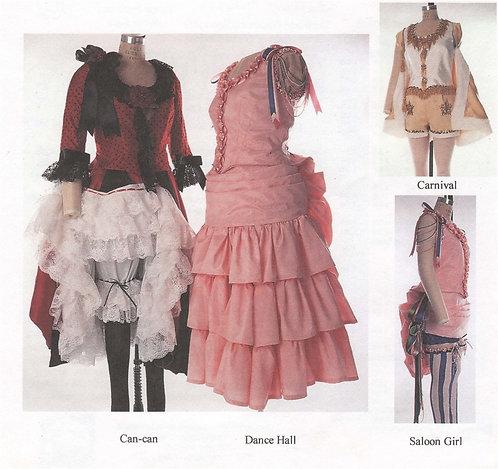 Pattern #105 - Saloon Girl