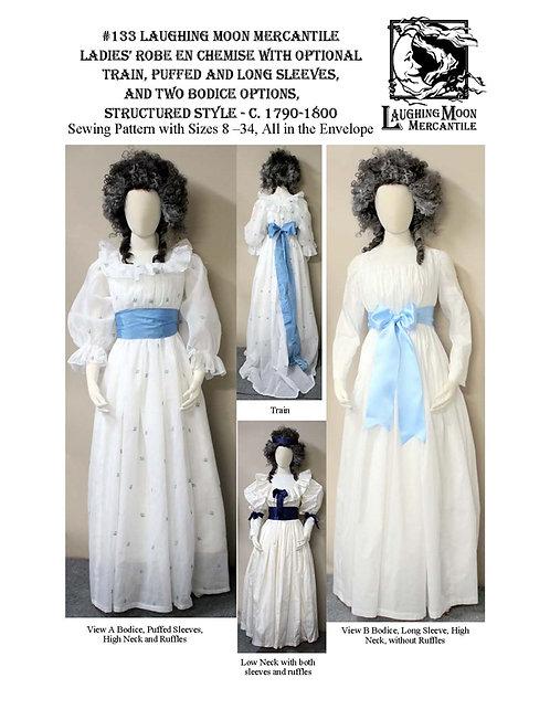 Pattern #133 Ladies' Robe en Chemise