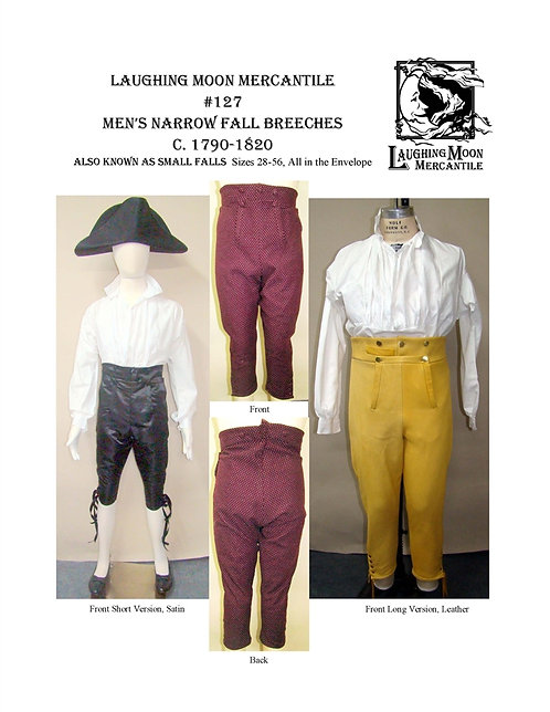#127 Download - Men's Narrow Fall Breeches