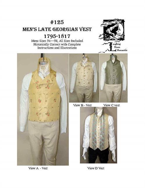 #125 Download - Men's Vest 1795-1817
