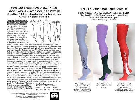 Pattern # 202- Stockings, Men's, Ladies',Children's