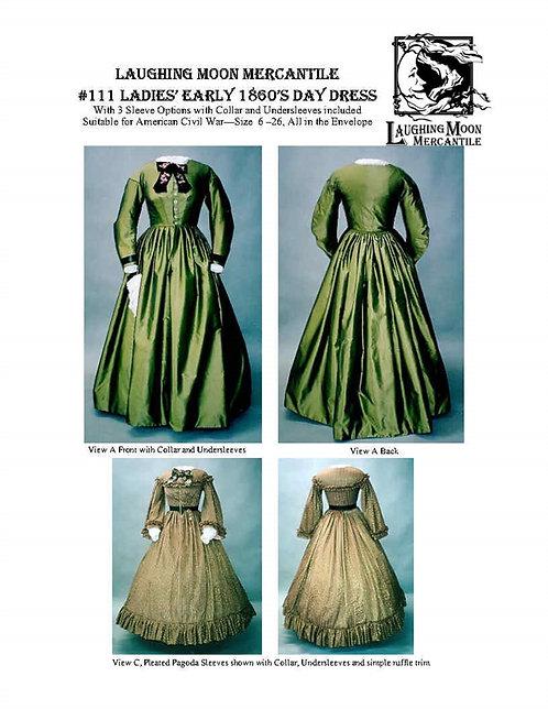 #111 Download - Ladies' Civil War Gown