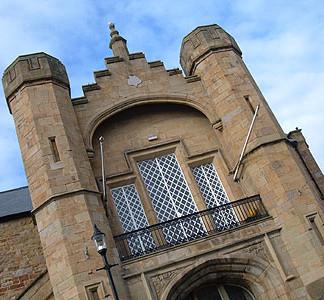 Flint Town Hall, North Wales