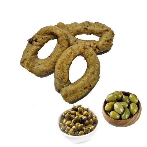 Taralli capperi e olive 300g