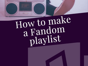 How to make a Fandom playlist
