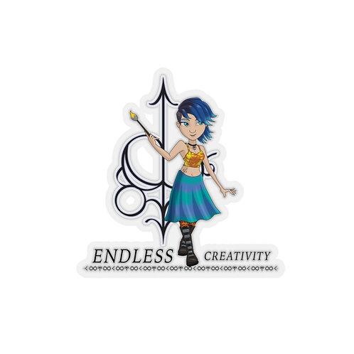 Endless Creativity - Kiss-Cut Stickers