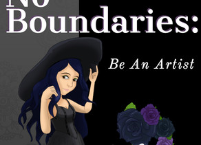 Creatives Have No Boundaries: Be An Artist
