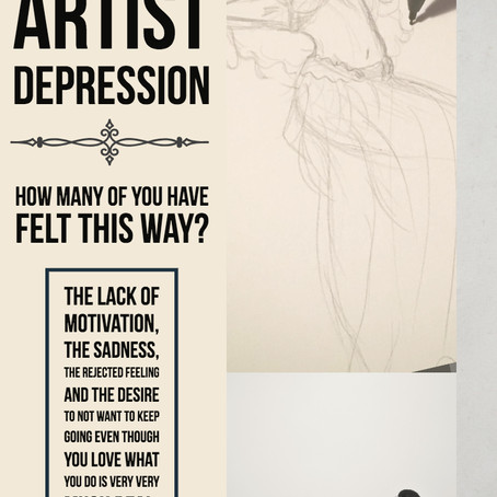 When You Are Feeling Down - Artist Depression