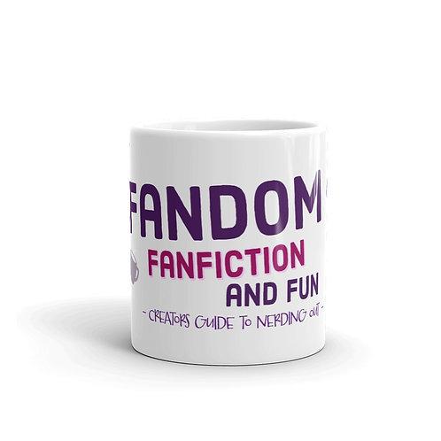 Fandom Fanfiction and Fun Mug