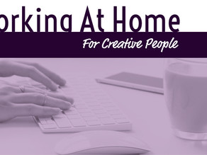 Working At Home For Creative People