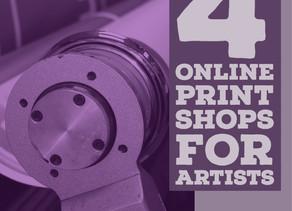 4 Online Print Shops for Artists