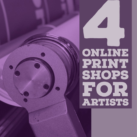 4 Online Print Shops for Artists