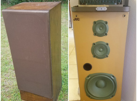 Repurposed Speaker Box