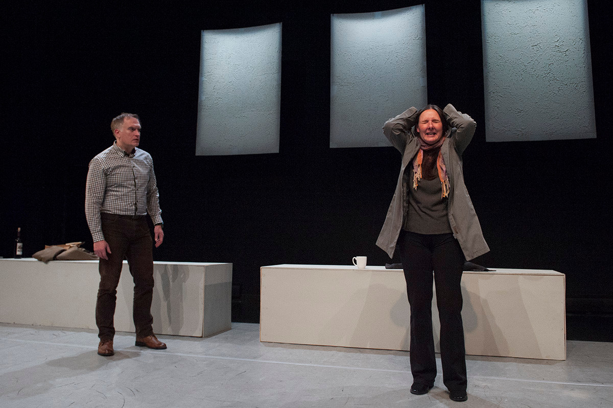 Poison by Lot Vekemans, director Charlie Tomlinson, actors Alexis Koetting, Aiden Flynn, performed January 2019,  LSPU Hall, St.John's, NL, Canada