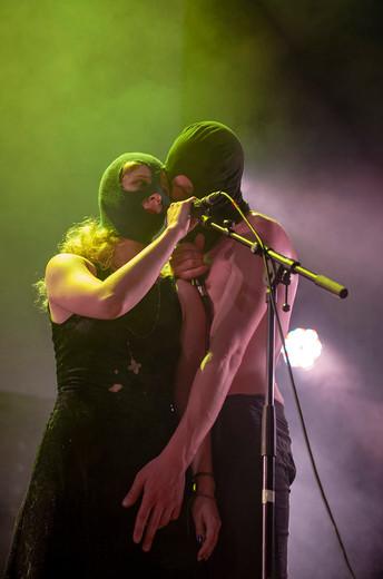 Kiryl Masheka performing at Summerhall, UK.