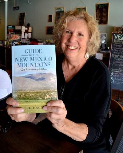 """Photo by: Sam Green/The Journal Liesl Ungnade has written the 50th anniversary edition of """"Guide to the New Mexico Mountains."""""""