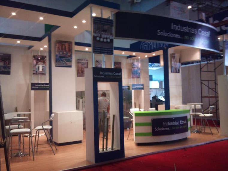 Expo Art   Diseño de stands para expos   Cliente: industrias Cosal