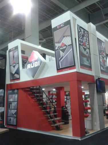 Expo Art   Diseño de stands para expos   Cliente: Rubi
