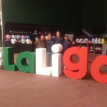 Expo Art | Diseño de stands para expos | Cliente: La Liga