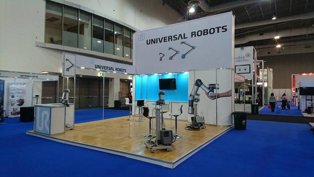 Expo Art   Diseño de stands para expos   Cliente: Universal Robots