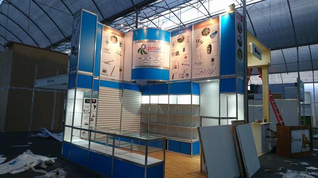 Expo Art   Diseño de stands para expos   Cliente: Proal