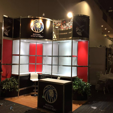 Expo Art   Diseño de stands para expos   Cliente: Royal Prestige