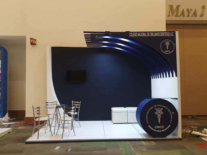 Expo Art   Diseño de stands para expos   Cliente: CNCD