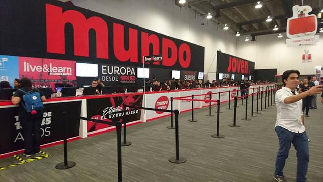 Expo Art   Diseño de stands para expos   Cliente: Mundo Joven